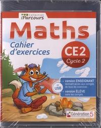 Génération 5 - Maths CE2 - Cahier d'exercices. 1 Clé Usb