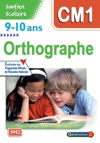 Génération 5 - Orthographe CM1 9-10 ans. 1 Cédérom