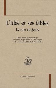 Geneviève Artigas-Menant et Alain Couprie - L'idée et ses fables - Le rôle du genre.