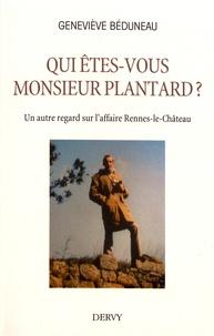 Meilleur livre audio téléchargement gratuit Qui êtes-vous monsieur Plantard ?  - Un autre regard sur l'affaire Rennes-le-Château 9791024205366