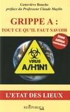 Geneviève Bouche - Grippe A/H1N1 - L'état des lieux.