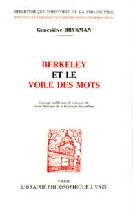 Geneviève Brykman - Berkeley et le voile des mots.