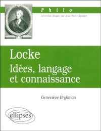 Goodtastepolice.fr Locke. - Idées, langage et connaissance Image