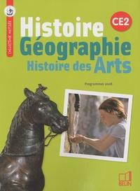 Geneviève Chapier-Legal et Emmanuelle Cueff - Histoire Géographie Histoire des Arts CE2 - Programmes 2008.