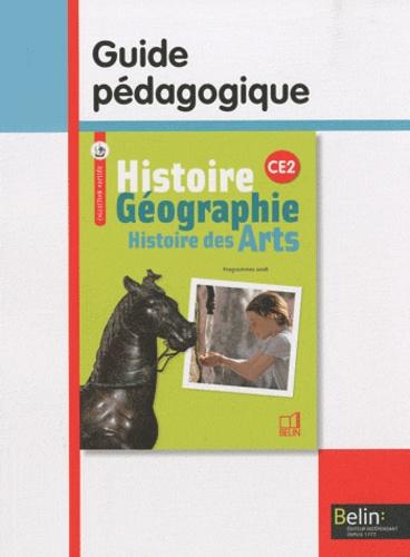 Geneviève Chapier-Legal et Emmanuelle Cueff - Histoire Géographie Histoire des Arts CE2 - Guide pédagogique, programmes 2008.