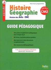 Geneviève Chapier-Legal et Youenn Goasdoué - Histoire Géographie Histoire des arts EMC CM2 Odyssée - Guide pédagogique.