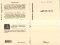 Geneviève Clancy - Aphorismes.