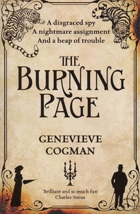 Genevieve Cogman - The Burning Page.
