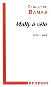 Geneviève Damas - Molly à vélo.