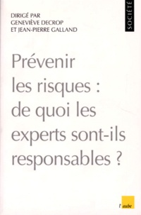 Geneviève Decrop et Jean-Pierre Galland - .