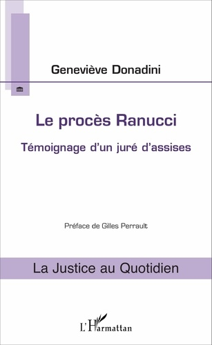 Le procès Ranucci - Geneviève Donadini - Format ePub - 9782336776323 - 9,99 €