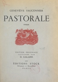 Geneviève Fauconnier et Démétrius Galanis - Pastorale - Avec 15 compositions de D. Galanis.