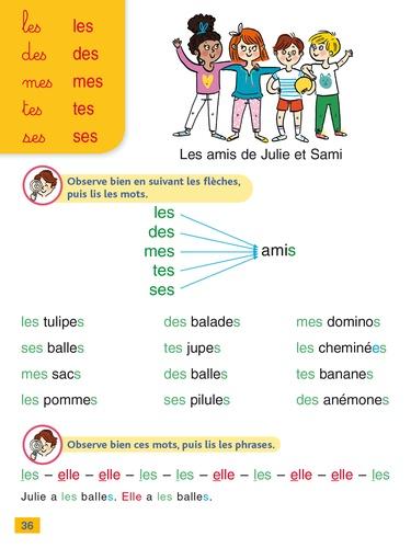 J'apprends à lire avec Sami et Julie. Méthode syllabique