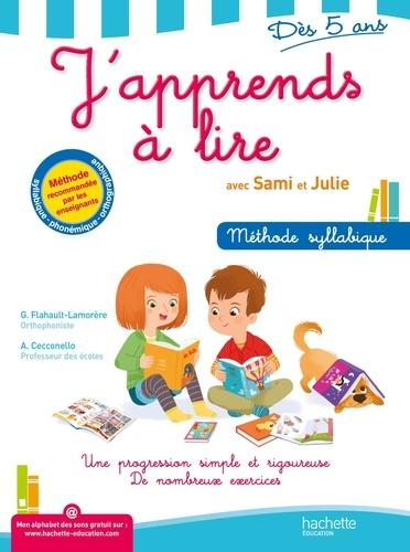 Geneviève Flahaut-Lamorère et Adeline Cecconello - J'apprends à lire avec Sami et Julie - Dès 5 ans.