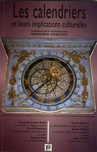 Geneviève Gobillot - Les calendriers et leurs implications culturelles.