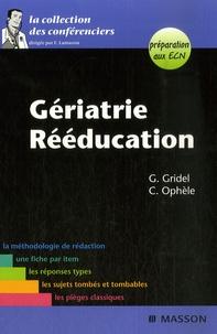 Geneviève Gridel et Cyril Ophele - Gériatrie Rééducation.