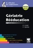 Geneviève Gridel et Cyril Ophèle - Gériatrie, rééducation - Préparation aux ECN.