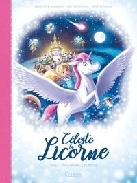 Lisette Morival et Geneviève Guilbault - Céleste la licorne T01 BD - Rallumons les étoiles.