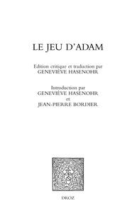 Geneviève Hasenohr - Le jeu d'Adam.