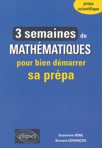 Histoiresdenlire.be 3 semaines de mathématiques pour bien démarrer sa prépa Image