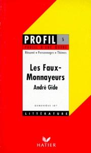 """Geneviève Idt - André Gide, """"Les faux-monnayeurs""""."""