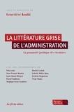 Geneviève Koubi - La littérature grise de l'administration - La grammaire juridique des circulaires.
