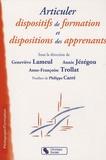 Geneviève Lameul et Annie Jézégou - Articuler dispositifs de formation et dispositions des apprenants.