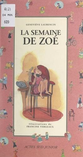 La semaine de Zoé