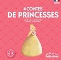 Geneviève Noël et Bruno Le Sourd - 4 contes de Princesses - Blanche-Neige ; Le prince des roses ; Peau d'âne ; La petite sirène.