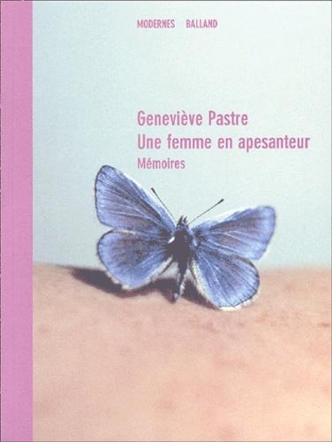 Geneviève Pastre - .