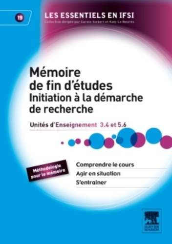 Geneviève Roberton - Le mémoire de fin d'études Initiation à la démarche de recherche - Unité d'intégration 5.6 et Unité d'enseignement 3.4.