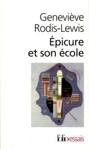 Geneviève Rodis-Lewis - Épicure et son école.