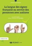 Geneviève Sancho - La langue des signes française au service des personnes avec autisme.
