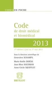 Rhonealpesinfo.fr Code de droit médical et biomédical Image