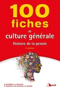 Obtenir un eBook 100 fiches de culture générale  - Histoire de la pensée