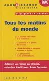 Geneviève Winter et Hélène Dumas - Tous les matins du monde - Pascal Quignard / Alain Corneau.