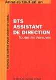 Génie des Glaciers - Annales tout en 1 pour BTS Assistant de direction.