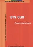 Génie des Glaciers - Annales tout en 1 pour BTS CGO.