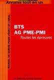 Génie des Glaciers - Annales tout en un pour BTS Assistant de gestion PME-PMI.