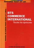 Génie des Glaciers - BTS Commerce International.
