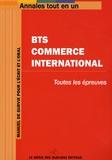Génie des Glaciers - BTS Commerce international - Annales tout en 1.