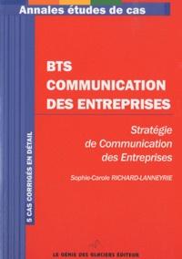 BTS Communication des entreprises- Stratégie de communication des entreprises -  Génie des Glaciers | Showmesound.org