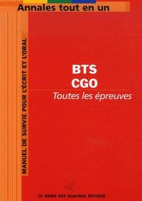 Génie des Glaciers - Comptabilité et Gestion des Organisations BTS.