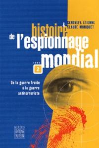 Accentsonline.fr Histoire de l'espionnage mondial. Tome 2, De la guerre froide à la guerre antiterroriste Image