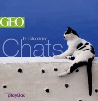 GEO - Le calendrier Chats.
