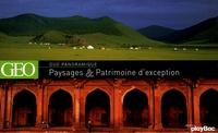 GEO - Paysages et Patrimoine d'exception - Coffret en 2 volumes.