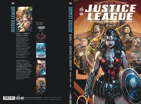 Justice League Tome 10 La guerre de Darkseid. 2e partie