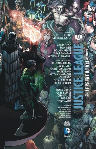 Justice League Tome 6 Le règne du mal. 1re partie