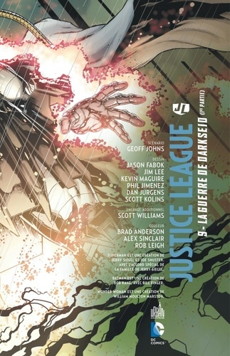Justice League Tome 9 La guerre de Darkseid. 1re partie