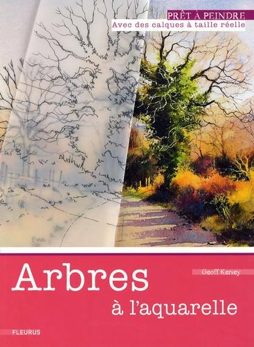 Geoff Kersey - Arbres à l'aquarelle.